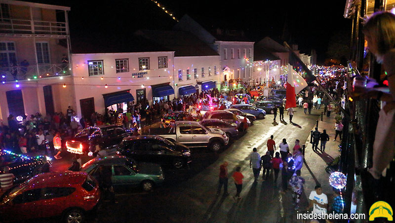 Festival of Lights in St Helena Island & The Jacob's Ladder Dancing Angels
